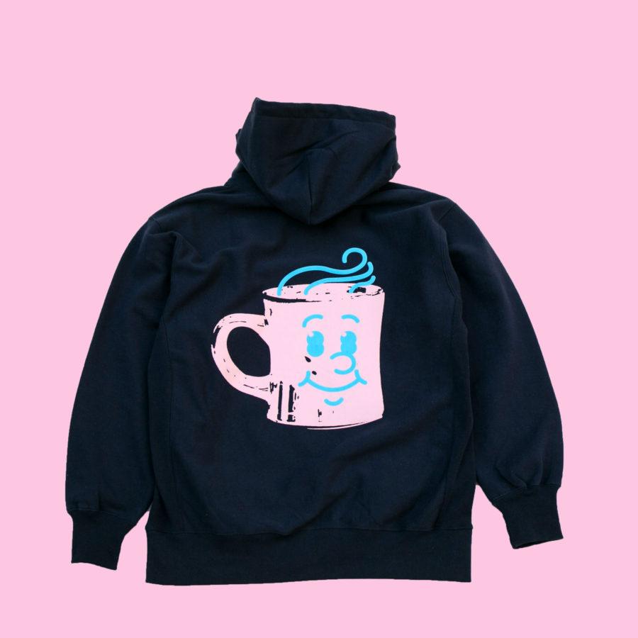 Smile Coffee Mug HOODIE [Design by Hikaru Matsubara]
